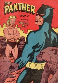 The Panther (Youngs, 1957 series) #37 — Baboon Boy (Cover)