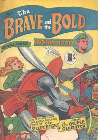 The Brave and the Bold (Colour Comics, 1956 series) #7 — Untitled