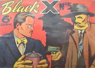 Black X (Pyramid, 1952? series) #5 ([1950?])