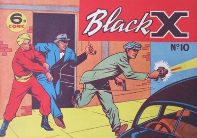 Black X (Pyramid, 1952? series) #10 (1950)
