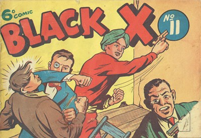 Black X (Pyramid, 1952? series) #11 ([1951?])
