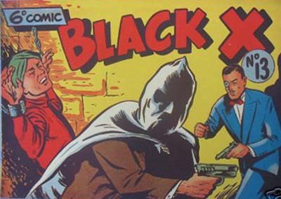 Black X (Pyramid, 1952? series) #13 ([1951?])
