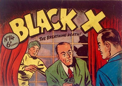 Black X (Pyramid, 1952? series) #14 ([1951?])
