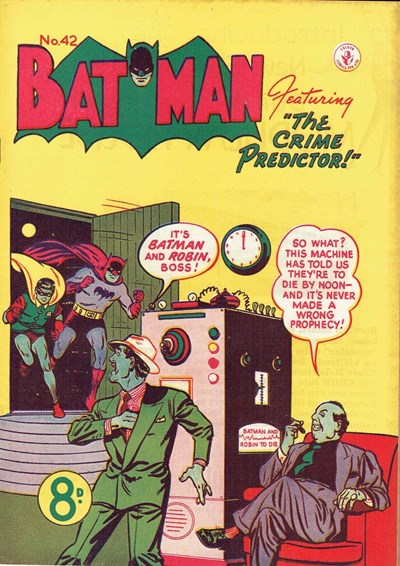 Batman (Colour Comics, 1950 series) #42 ([November 1953?])