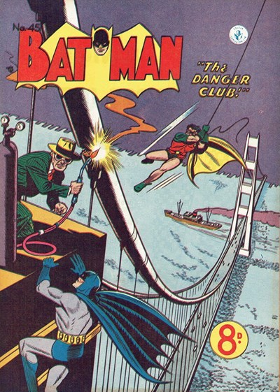 Batman (Colour Comics, 1950 series) #45 ([February 1954])