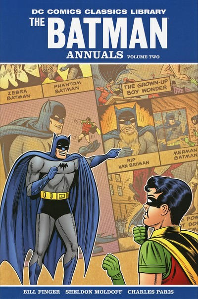 DC Comics Classics Library: The Batman Annuals (DC, 2009 series) #2 ([August] 2010)