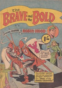 The Brave and the Bold (Colour Comics, 1956 series) #8 — Duel of the Double Identities!