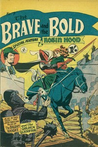 The Brave and the Bold (Colour Comics, 1956 series) #9 ([October 1956?])