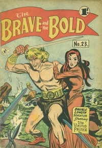The Brave and the Bold (Colour Comics, 1956 series) #23 ([January 1958?])