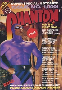 The Phantom (Frew, 1983 series) #1000 [1028] (January 1992) — Untitled (Cover)