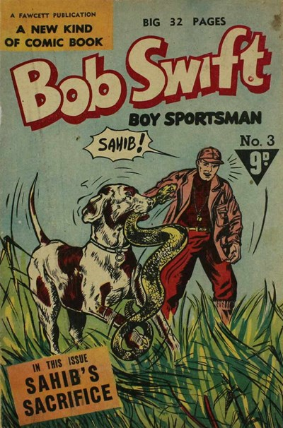 Bob Swift Boy Sportsman (Cleland, 1954? series) #3 ([1955??])