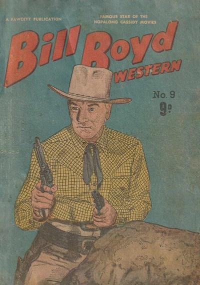 Bill Boyd Western (Cleland, 1955? series) #9 ([September 1955?])