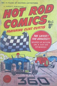 Hot Rod Comics Featuring Clint Curtis (Cleland, 1952? series) #1