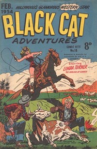 Comic Hits (Red Circle, 1952 series) #18 (February 1954) —Black Cat Adventures
