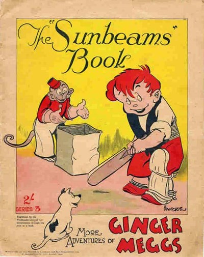 "The ""Sunbeams"" Book (ANL, 1924 series) #3 (1926) —More Adventures of Ginger Meggs"