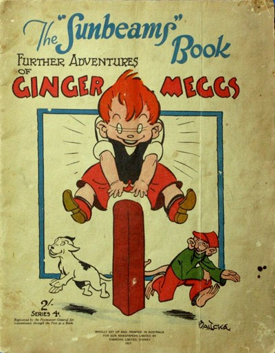 "The ""Sunbeams"" Book (ANL, 1924 series) #4 ([1927]) —Further Adventures of Ginger Meggs"