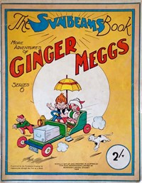 "The ""Sunbeams"" Book (Associated Newspapers, 1924 series) #6 ([1929?]) —More Adventures of Ginger Meggs"