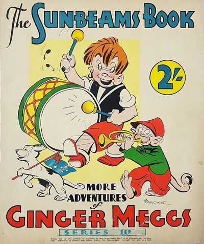 "The ""Sunbeams"" Book (ANL, 1924 series) #10 ([1933]) —More Adventures of Ginger Meggs"