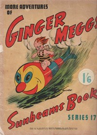 "The ""Sunbeams"" Book (Associated Newspapers, 1924 series) #17 ([1940]) —More Adventures of Ginger Meggs"