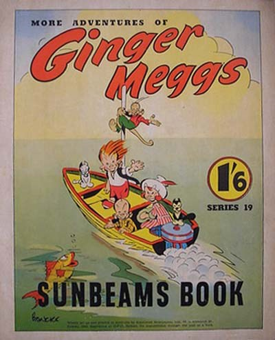 "The ""Sunbeams"" Book (ANL, 1924 series) #19 (1942) —More Adventures of Ginger Meggs"