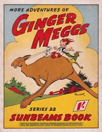 "The ""Sunbeams"" Book (Associated Newspapers, 1924 series) #22 ([1945]) —More Adventures of Ginger Meggs"