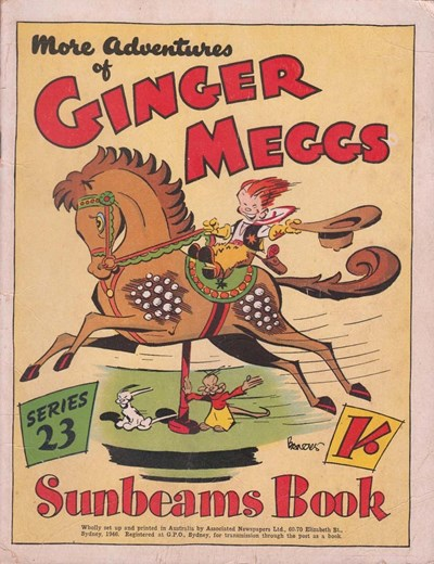 "The ""Sunbeams"" Book (ANL, 1924 series) #23 ([1946]) —More Adventures of Ginger Meggs"