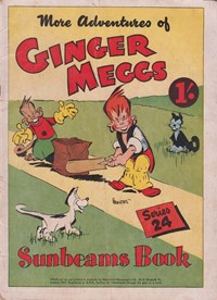 "The ""Sunbeams"" Book (Associated Newspapers, 1924 series) #24 ([1947]) —More Adventures of Ginger Meggs"