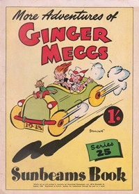 "The ""Sunbeams"" Book (Associated Newspapers, 1924 series) #25 ([December 1948?]) —More Adventures of Ginger Meggs"