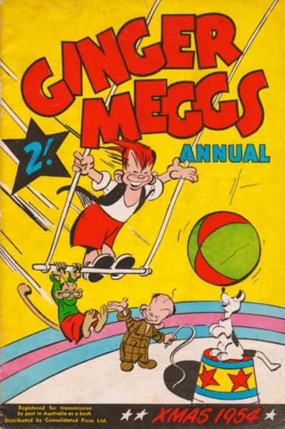 Ginger Meggs Annual (ACP, 1952 series)  (1954) —Xmas 1954
