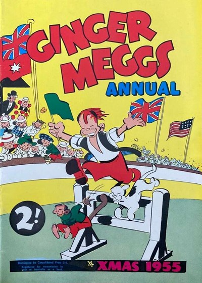 Ginger Meggs Annual (ACP, 1952 series)  (1955) —Xmas 1955