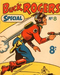 Buck Rogers Special (Southdown Press, 1950? series) #8 — Untitled (Cover)