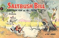 Saltbush Bill Cartoon Fun on the Farm (Sungravure, 1947 series) #31 — Untitled
