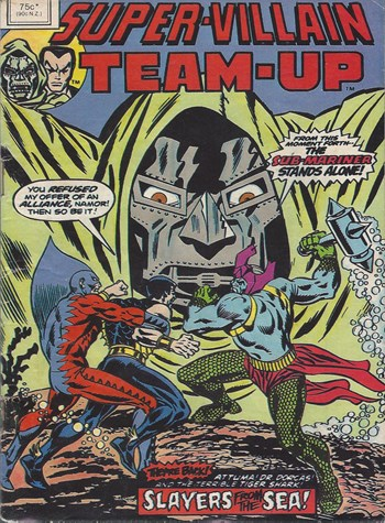 Slayers from the Sea!—Super-Villain Team-Up (Yaffa, 1980? series)  ([1980?])