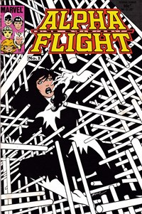Alpha Flight (Federal, 1983? series) #1 — Untitled (Cover)