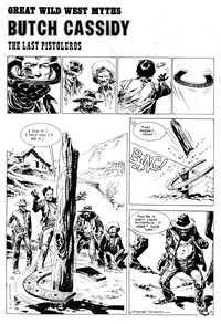 Super Western Album (KG Murray, 1975 series) #7 — Butch Cassidy: The Last Pistoleros (page 1)