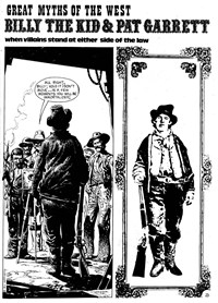 Super Western Album (KG Murray, 1975 series) #7 — Billy the Kid & Pat Garrett: When Villains Stand at Either Side of the Law (page 0)