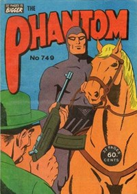 The Phantom (Frew, 1983 series) #749 ([July 1982?])
