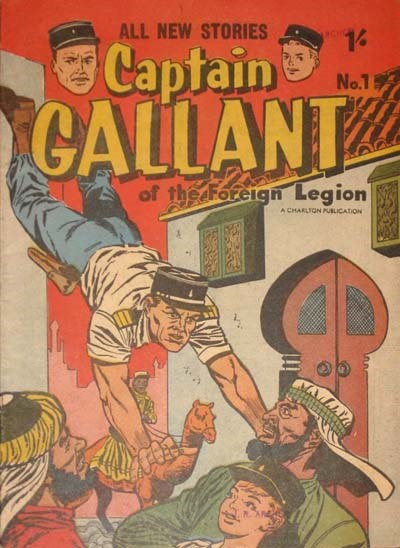 Captain Gallant (Cleland, 1957? series) #1 ([195-??])