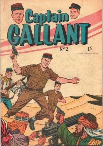 Captain Gallant (Cleland, 1957? series) #2 ([1957?])