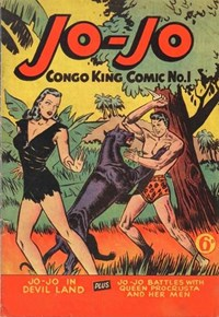 Jo-Jo Congo-King Comic (Youngs, 1948 series) #1