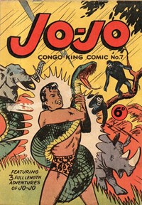 Jo-Jo Congo-King Comic (Youngs, 1948 series) #7
