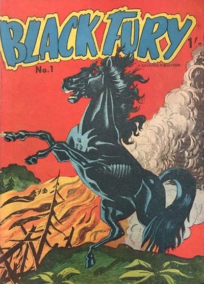 Black Fury (Cleland, 1957? series) #1 ([1957?])