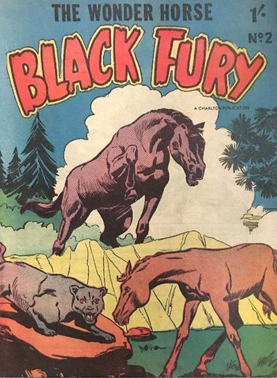 Black Fury (Cleland, 1957? series) #2 ([1957?])