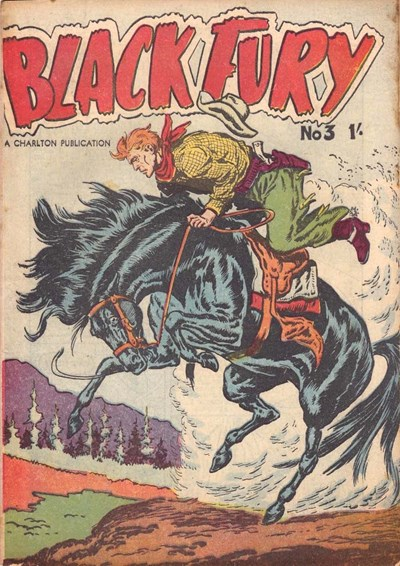 Black Fury (Cleland, 1957? series) #3 ([May 1957?])