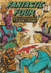 Fantastic Four (Yaffa/Page, 1977 series) #212-213 — The Clash of the Titans!