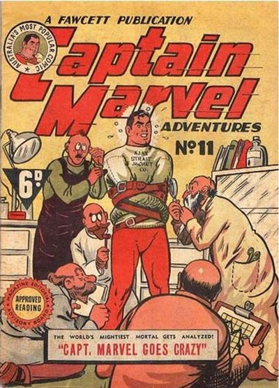Captain Marvel Adventures (Vee, 1946? series) #11 ([June 1947?])