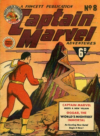 Captain Marvel Adventures (Vee, 1946? series) #8 ([March 1947?])
