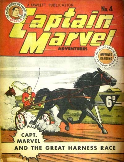 Captain Marvel Adventures (Vee, 1946? series) #4 ([November 1946?])