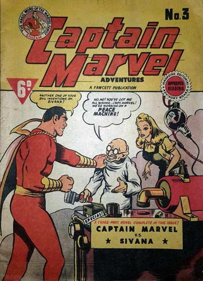 Captain Marvel Adventures (Vee, 1946? series) #3 ([October 1946?])