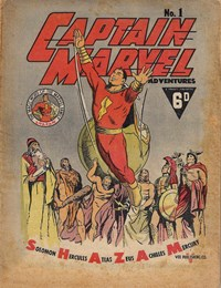 Captain Marvel Adventures (Vee, 1946? series) #1 ([August 1946?])